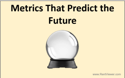 Using metrics that predict the future
