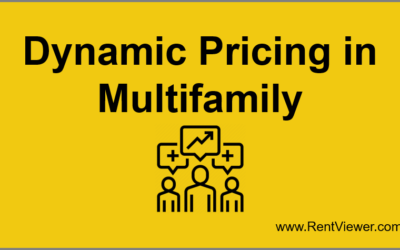 Dynamic Pricing in Multifamily Portfolios