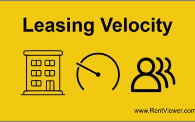 Leasing Velocity