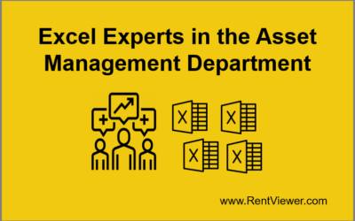 Real Estate Asset Management with Excel
